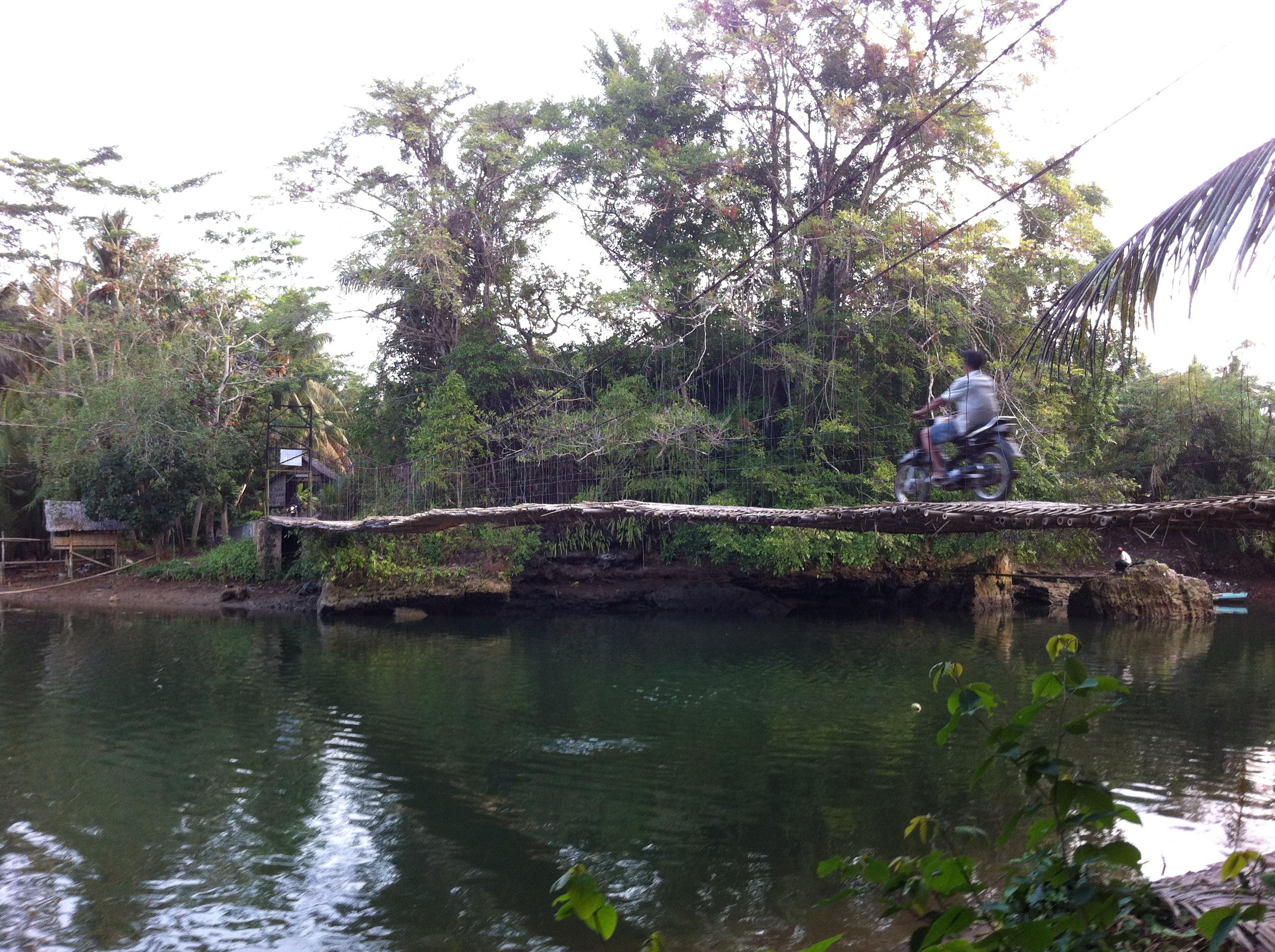 Bamboo Bridge near Pangandaran