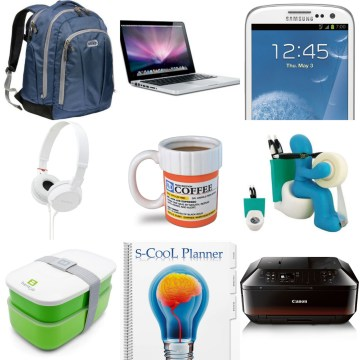 10 most essential Back-to-School/College supplies to have or to give