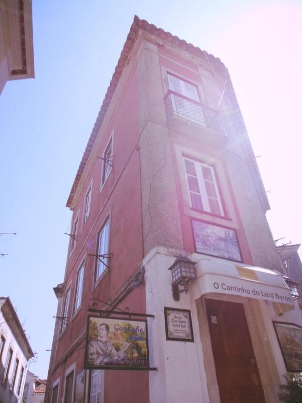 Lord Byron snack bar in Sintra, near Lisbon, Portugal