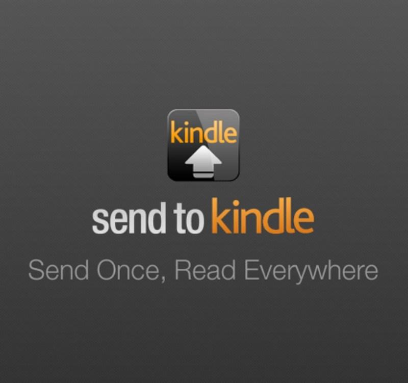 Amazon Send to Kindle
