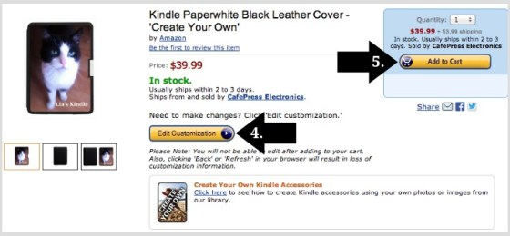 How to personalize Kindle covers and skins using Create Your