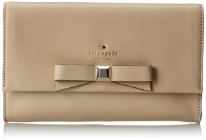 Kate Spade New Nork Holly Street Remi Clutch (Ostrich Egg)