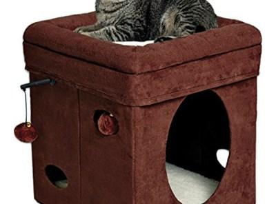 Feline Nuvo Curious Cat Cube - Cat House - Cat Condo