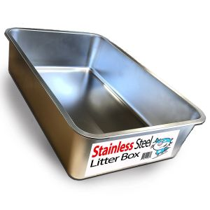 iPrimio Ultimate Stainless Steel Cat XL Litter Box