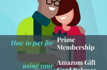 How to pay for Prime membership using your Amazon Gift Card Balance