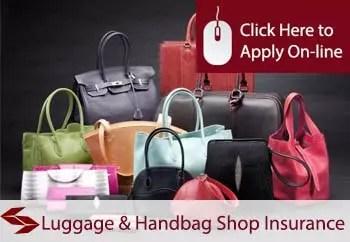 luggage and handbag shop insurance in Ireland
