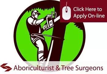 arboriculturist and tree surgeons public liability insurance