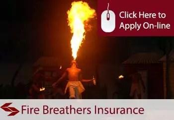 fire breathers liability insurance