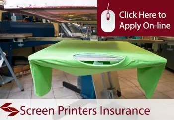 screen printers public liability insurance
