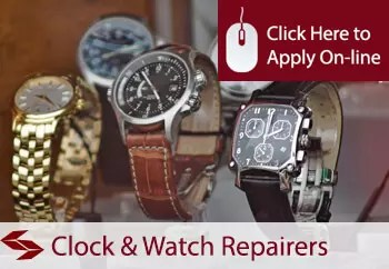clock and watch repairers liability insurance