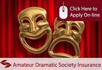 amateur dramatic societies public liability insurance