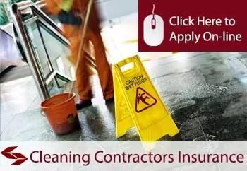 cleaning contractors public liability insurance