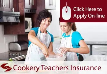 cookery teachers public liability insurance