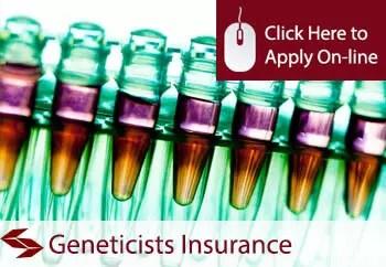 geneticists public liability insurance