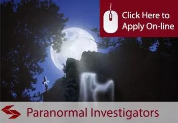 paranormal investigators public liability insurance