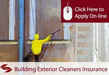 building exterior cleaners public liability insurance