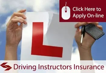 driving instructor professional indemnity insurance
