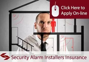 security alarm installers liability insurance