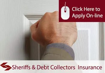 sheriffs and debt collectors public liability insurance