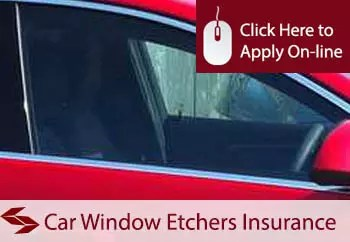 car window etchers public liability insurance