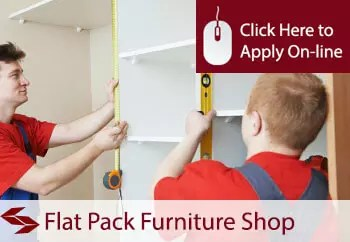 flat pack furniture shop insurance in Ireland