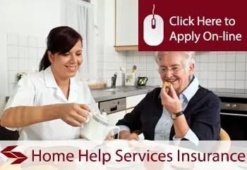 home help services public liability insurance