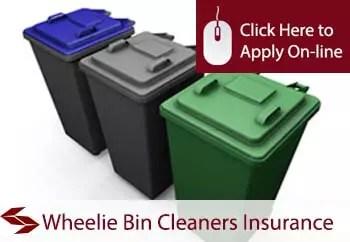 wheelie bin cleaners liability insurance