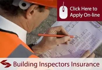 building inspectors public liability insurance