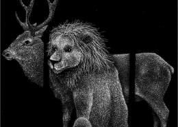 La mucca, la capra e la pecora in società con il leone - Lia Mariani