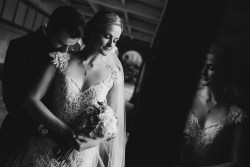 romantic bride and groom photography