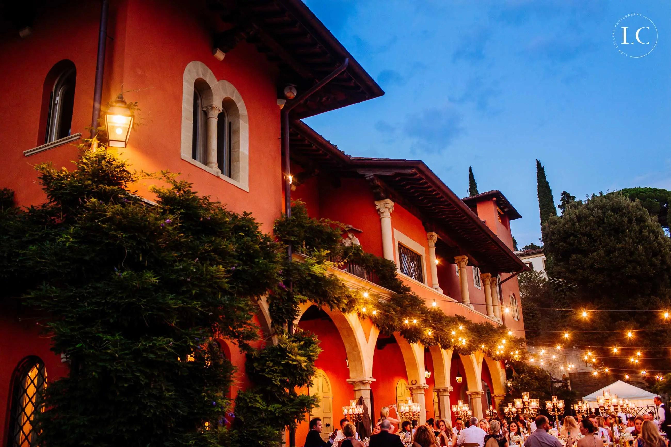 Colourful venue Italy