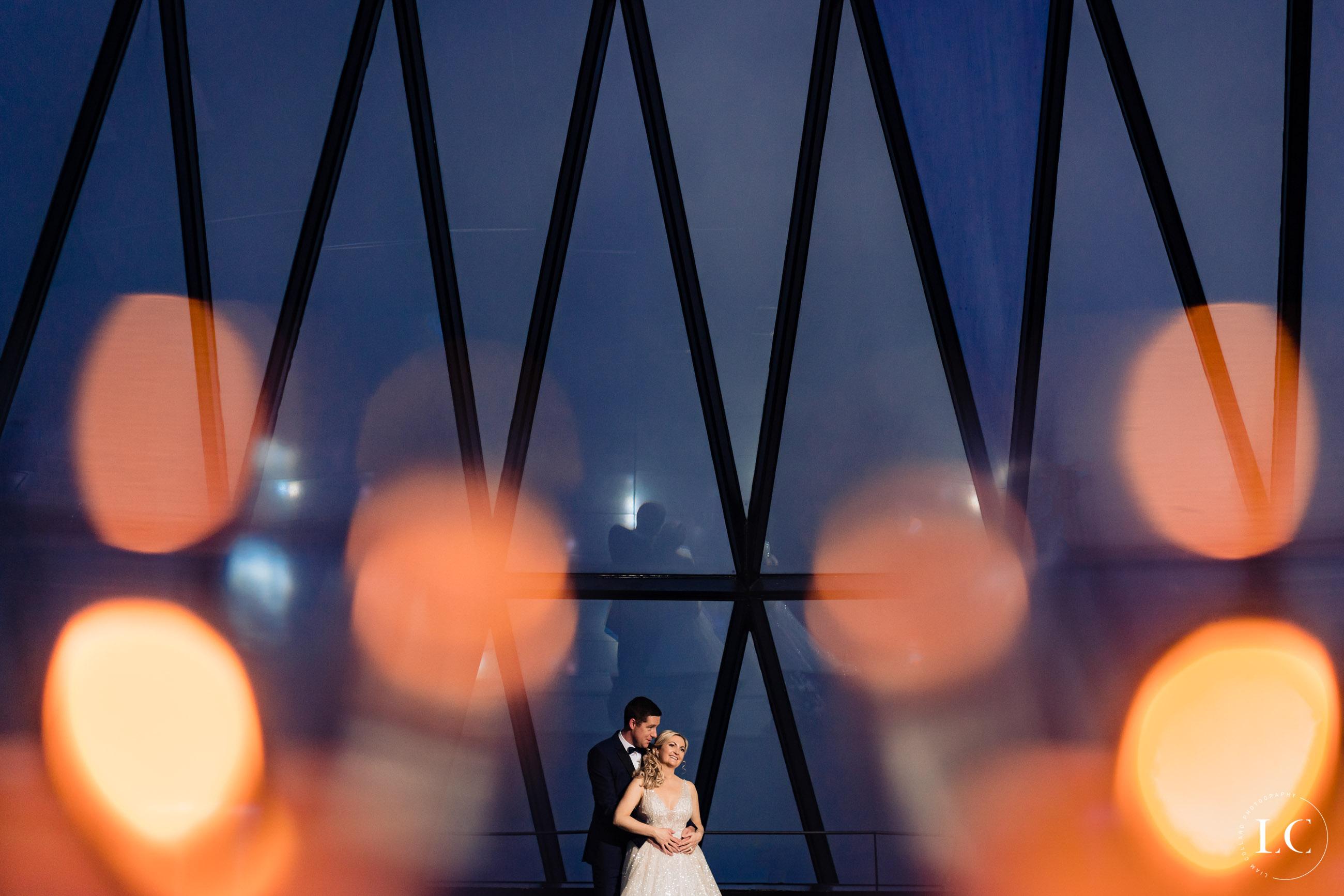 Gherkin wedding London