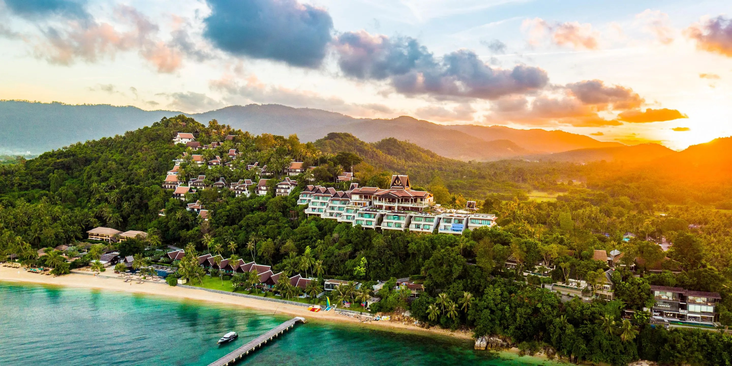 Intercontinental Koh Samui wedding venue