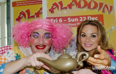 Launch of Alladin - 2013 Pantomime