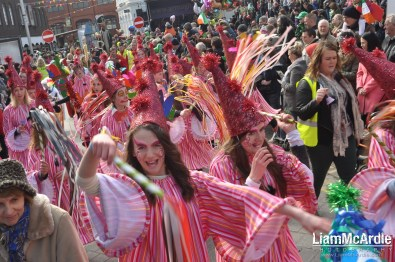 Saint Patrick's Day Parade in Armagh