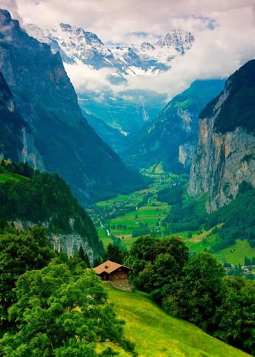 Majestic, Lauterbrunnen Valley, Switzerland