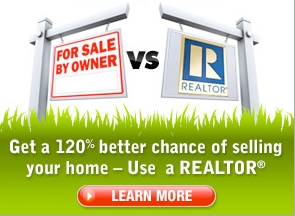 Sellers Fare 120% Better Using a Realtor than Selling FSBO!