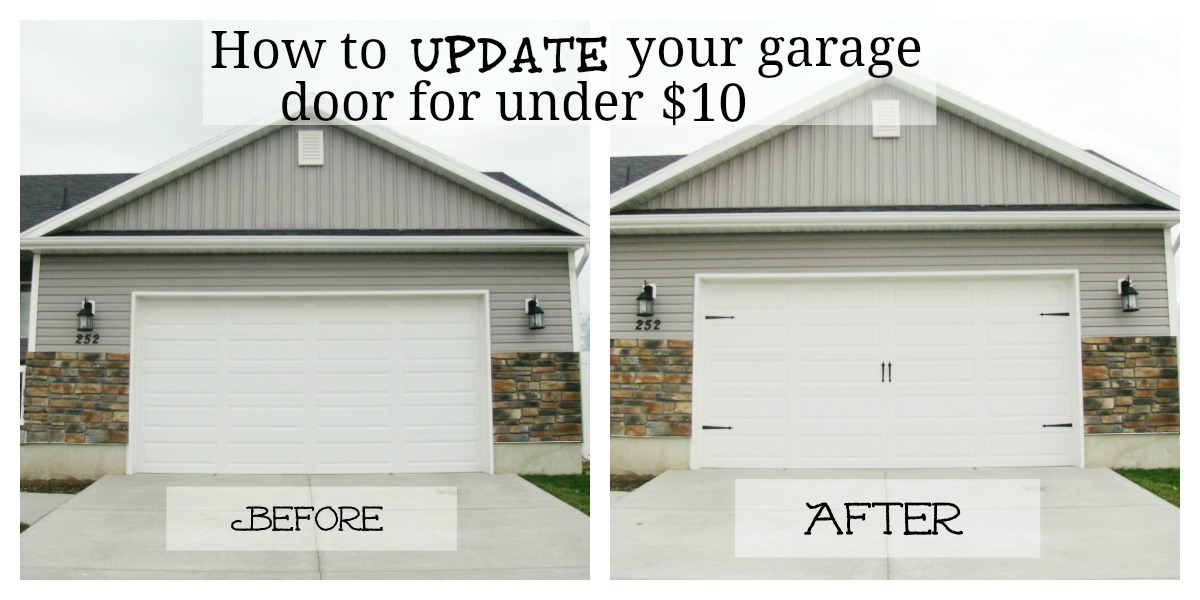 Give your garage door major curb appeal for under 10 jamason group as my hubby and i were walking our dog through our new neighborhood one recent evening i was commenting on how i loved the carriage style garage doors eventshaper