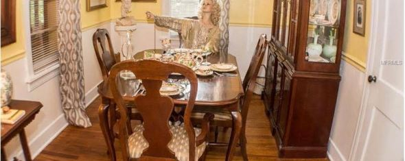 Bad MLS Photo of the Day:  Mannequin in the Dining Room