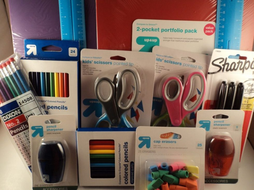 Back to School Supplies Grades 4-5 Pencils Binders Scissors and More! FREE GIFT!
