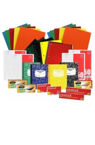 Back to School Supplies Set for Middle High School and College Bic New replenish