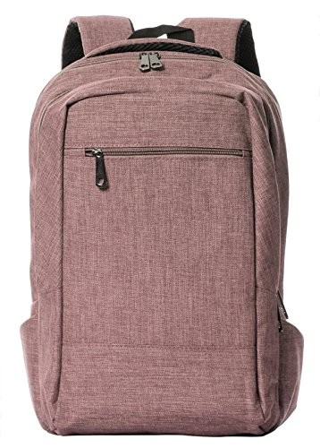 Veenajo Lightweight Laptop Backpack College School Large Travel Bag Fits Up To 15.6-Inch Laptop Khaki