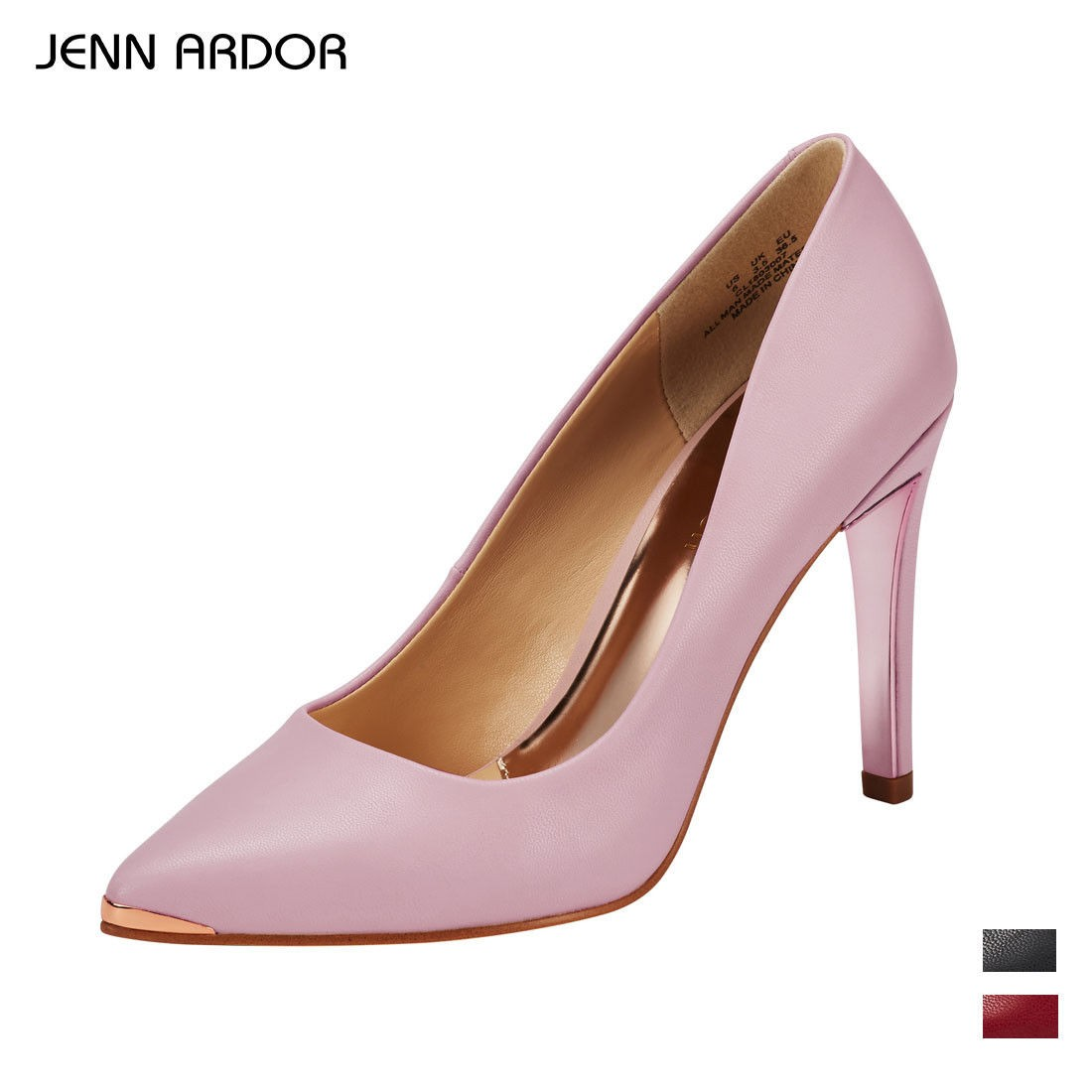 15a2c1e5df92 JENN ARDOR Women s Classic Stilettos High Heels Pointed Toe Party Wedding  Pumps