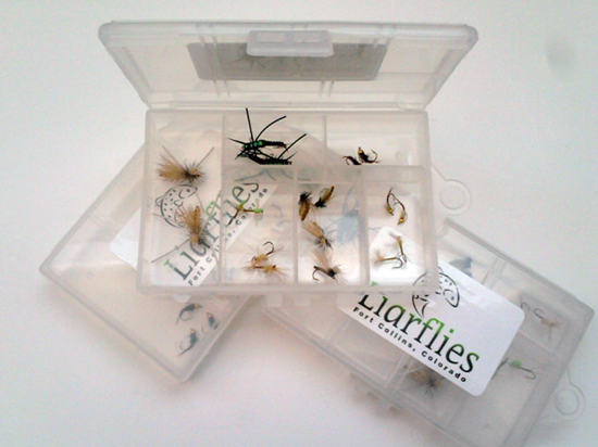 Liarflies-Cache La Poudre Fly Collection.