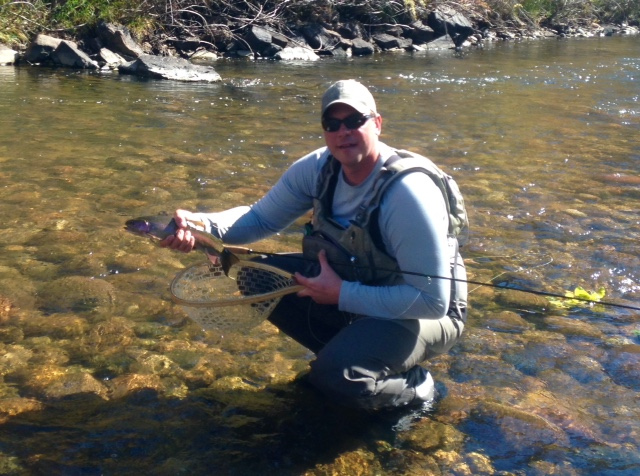 Fly Fishing in Fort Collins can be amazing in the Fall, Winter and early Spring.