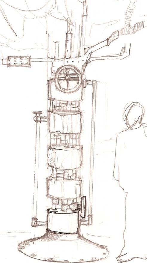 Oxy-Gen concept sketch by Zeynep Bakkal