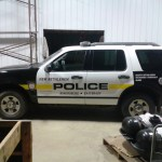 CNG Installed in Police SUV