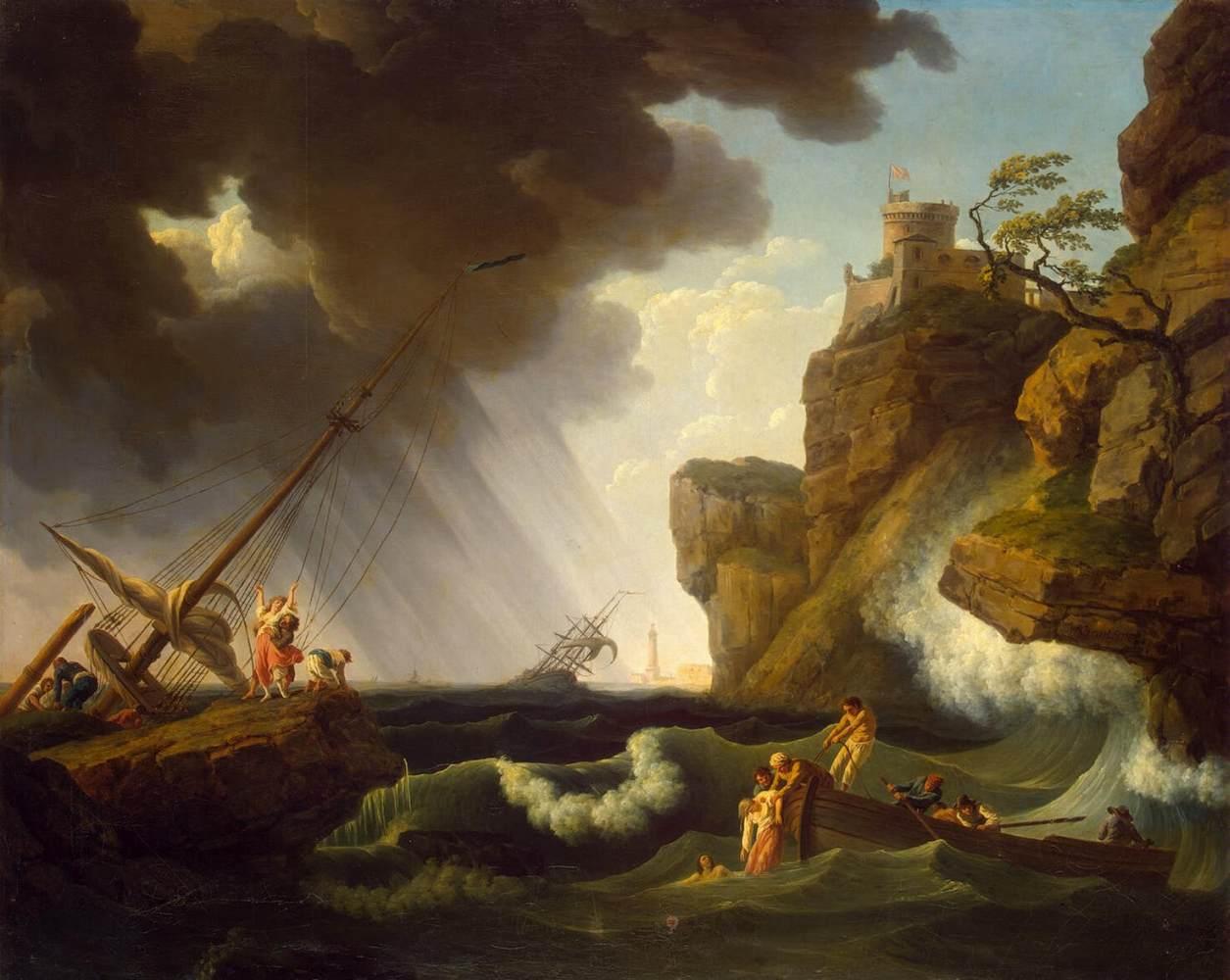 Shipwreck / by CLAUDE-JOSEPH VERNET