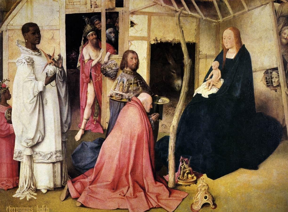 Jeroen Bosch Adoration of the Magi