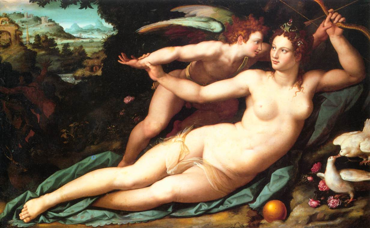 venus-and-cupid-alessandro-allori
